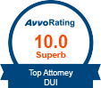 AVV) Rating 10.0 - Top DUI Attorney